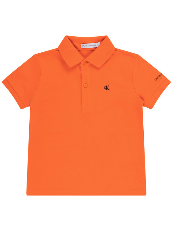 Calvin Klein Jeans Calvin Klein Jeans Polo Essential SS IB0IB00376 Arancione Slim Fit