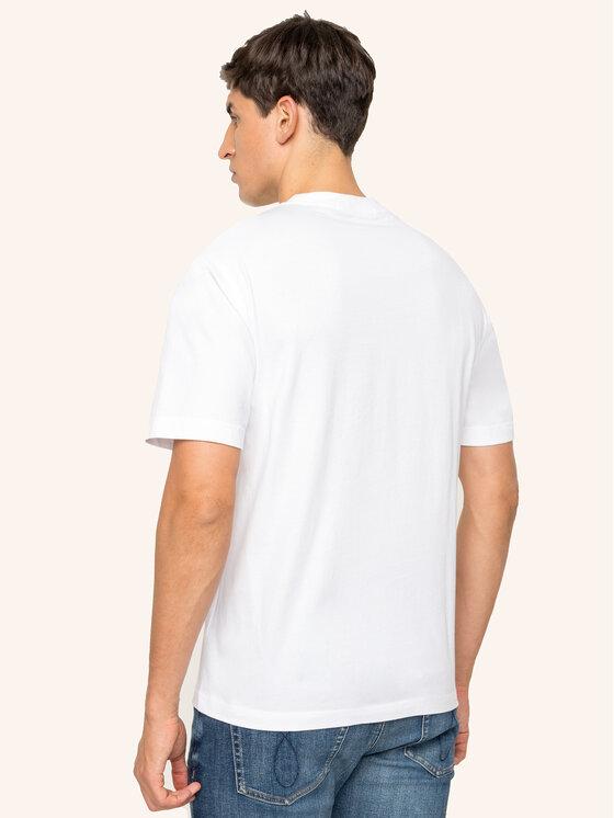Calvin Klein Jeans Calvin Klein Jeans T-shirt Core J30J313280 Bianco Regular Fit