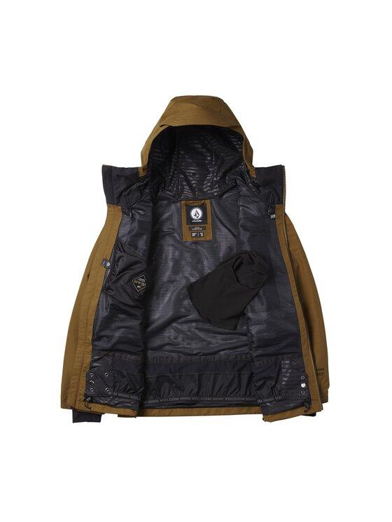 Volcom Volcom Μπουφάν για snowboard Stone G0652003 Καφέ Standard Fit