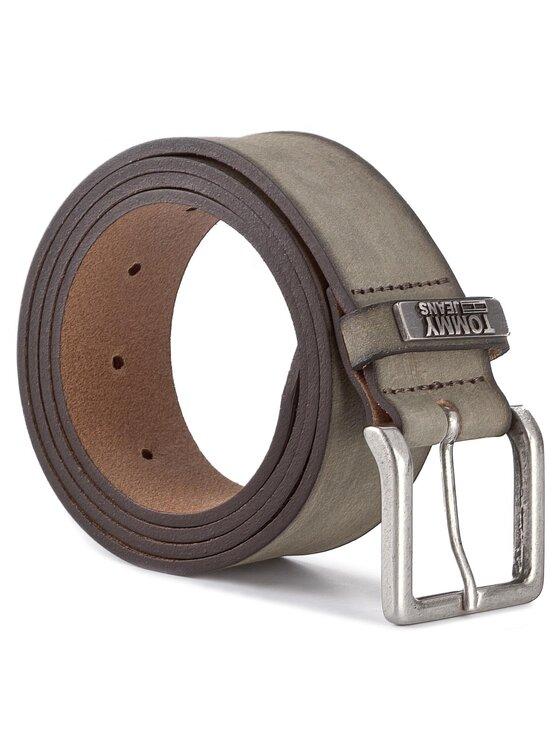Tommy Hilfiger Tommy Hilfiger Curea pentru Bărbați DENIM Thd Hilfiger Loop Belt 4.0 AM0AM02982 100 Gri