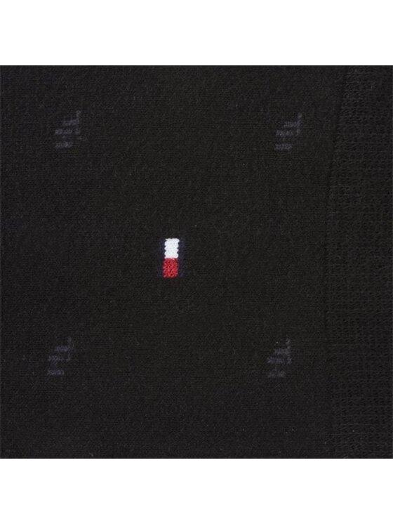 Tommy Hilfiger Tommy Hilfiger Zestaw 2 par wysokich skarpet męskich 422018001200 Czarny