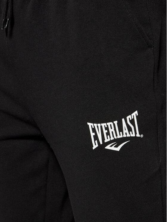 Everlast EVERLAST Spodnie dresowe 810540-60 Czarny Regular Fit