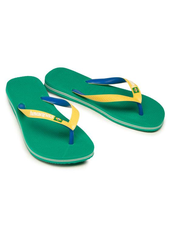 Havaianas Havaianas Japonki Brasil Mix Fc 41232062078 Żółty