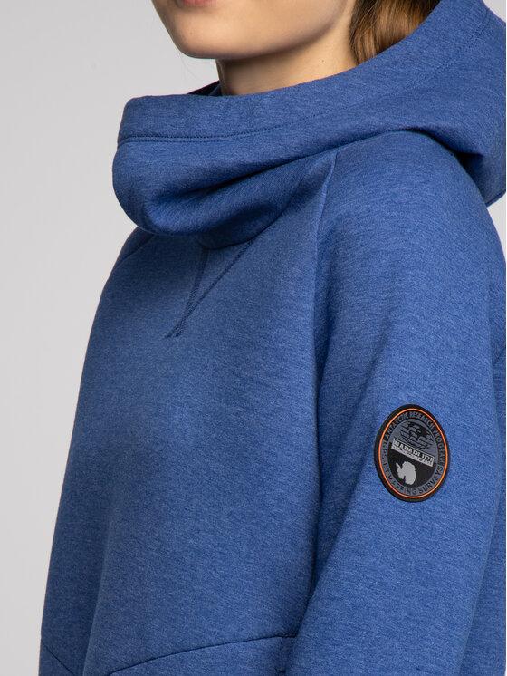 Napapijri Napapijri Μπλούζα Balty N0YHYT Σκούρο μπλε Regular Fit