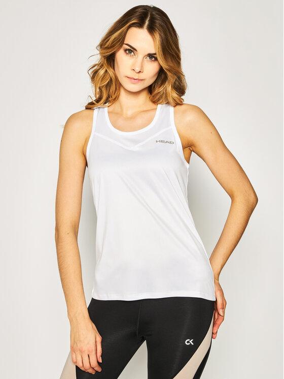 Head Marškinėliai Easy Court 814560 Balta Regular Fit