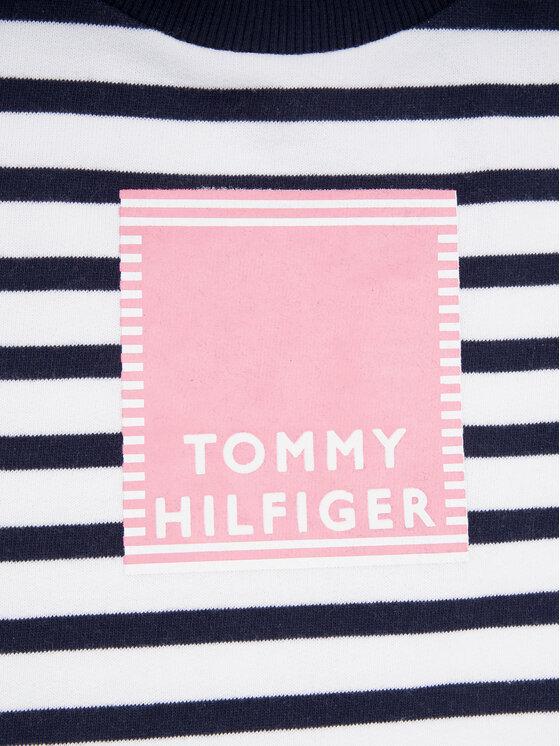 Tommy Hilfiger Tommy Hilfiger Φόρεμα καθημερινό Nautical KG0KG04902 M Σκούρο μπλε Regular Fit
