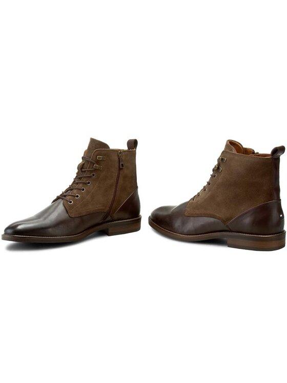 Tommy Hilfiger Tommy Hilfiger Μπότες Dallen 11C FM56821853 Καφέ