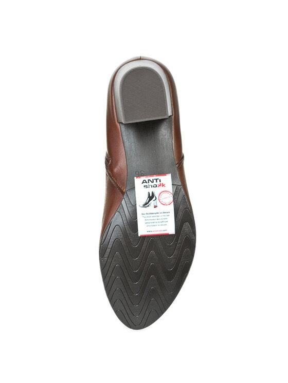 Marco Tozzi Marco Tozzi Členková obuv 2-25385-23 Hnedá