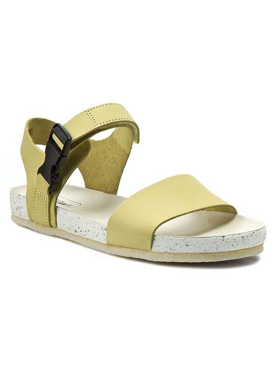 Clarks Clarks Sandále Dusty Sport 261142324 Žltá