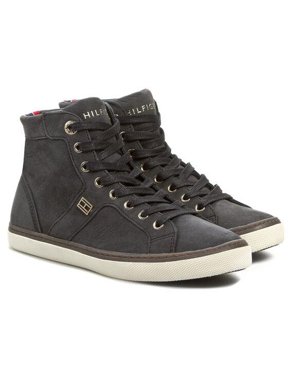 TOMMY HILFIGER TOMMY HILFIGER Sneakers Shelly 3N FW56817801 Negru