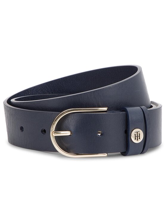 Tommy Hilfiger Tommy Hilfiger Ζώνη Γυναικεία Classic Belt 3.5 AW0AW05885 Σκούρο μπλε