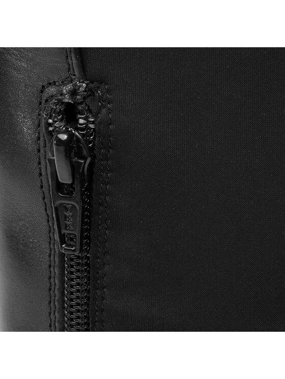 Trussardi Trussardi Jeans Μπότες πάνω από το γόνατο 79A00273 Μαύρο