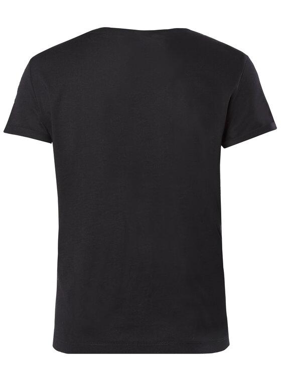 Guess Guess Marškinėliai W92I67 JA900 Juoda Regular Fit
