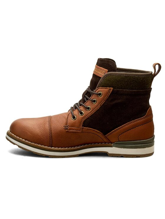 Tommy Hilfiger Tommy Hilfiger Μπότες Rover 1C FM56821481 Καφέ