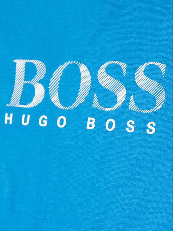 Boss Boss Póló J25E63 S Kék Regular Fit
