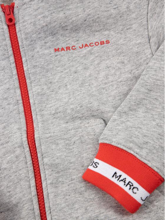 Little Marc Jacobs Little Marc Jacobs Bluza W25404 Szary Regular Fit