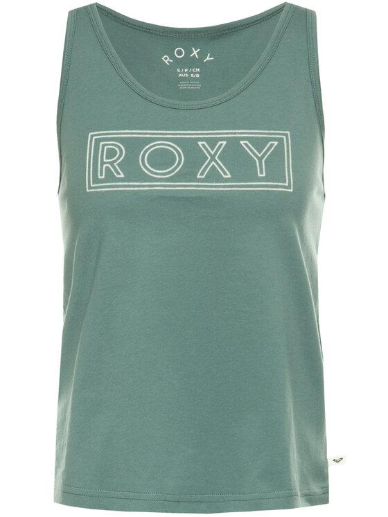 Roxy Roxy Топ ERJZT04805 Зелен Regular Fit