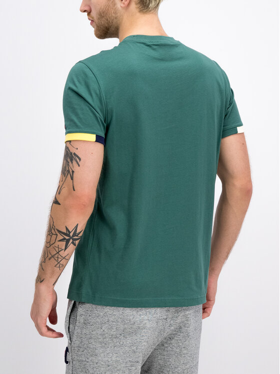 Champion Champion T-Shirt 212791 Zielony Comfort Fit