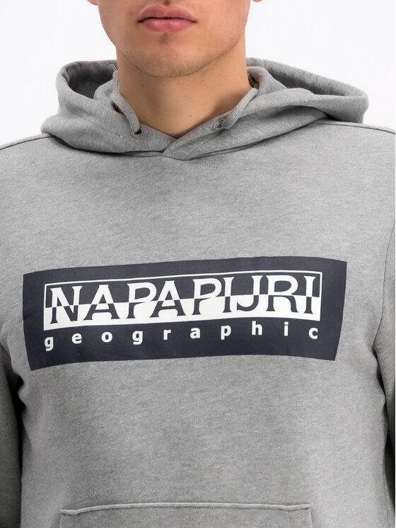 Napapijri Napapijri Суитшърт Bago N0YIEB Сив Regular Fit