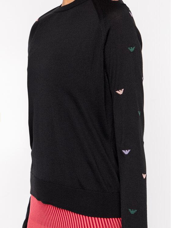 Emporio Armani Emporio Armani Sweter 6G2MTE 2M23Z 0999 Czarny Regular Fit