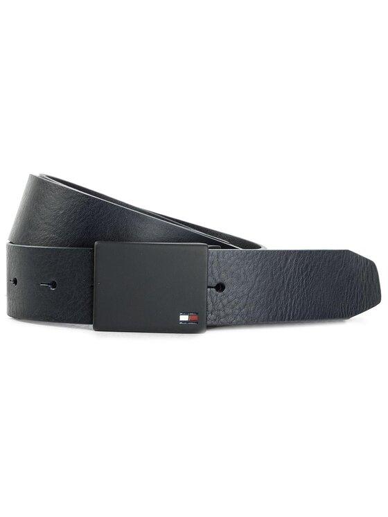 Tommy Hilfiger Tommy Hilfiger Pasek Męski New Modern Plaque Belt 3.5 AM0AM03299 100 Granatowy