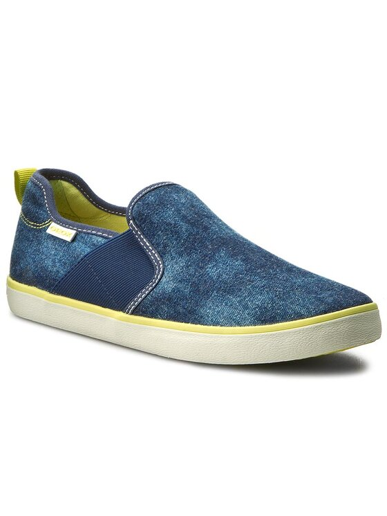 Geox Geox Sneakers aus Stoff J Kiwi B. P J72A7P 0GI54 C0902 D Dunkelblau