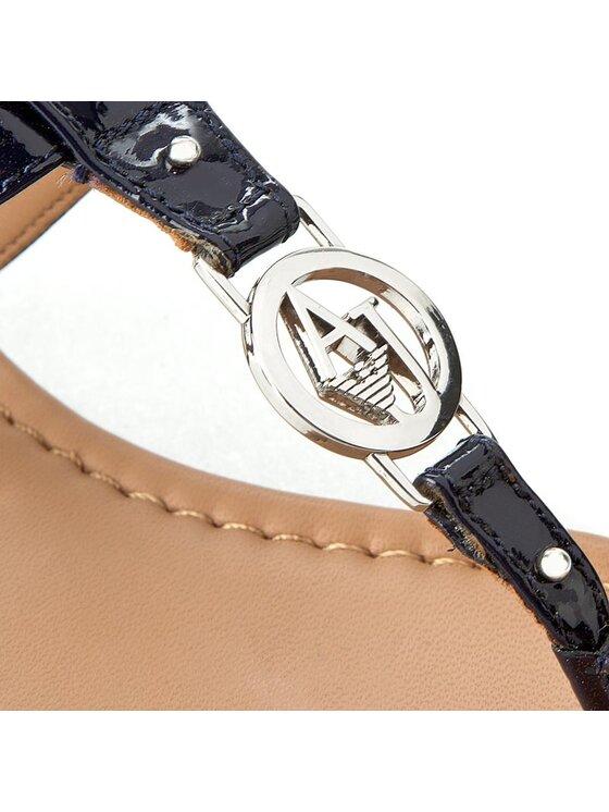 Armani Jeans Armani Jeans Žabky C5587 28 50 Tmavomodrá