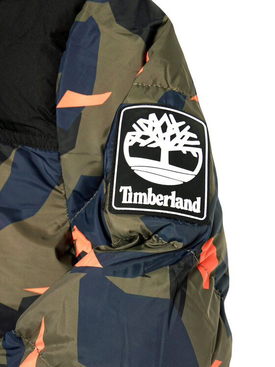 Timberland Timberland Kurtka puchowa T26519 S Zielony Regular Fit