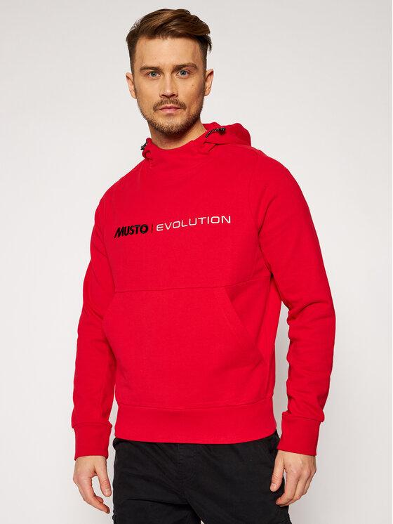 Musto Džemperis Evo Logo 82043 Raudona Regular Fit