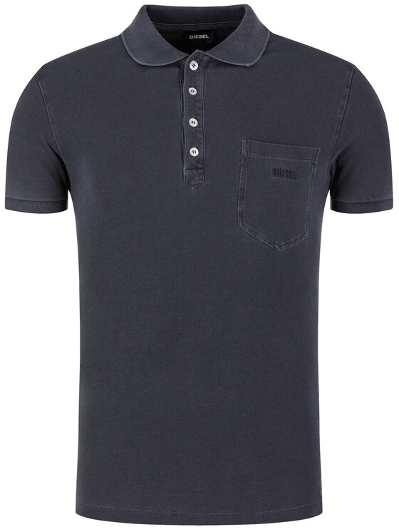 Diesel Diesel Polo T-Kal-2 00S6CR 0SAXZ Grigio Regular Fit