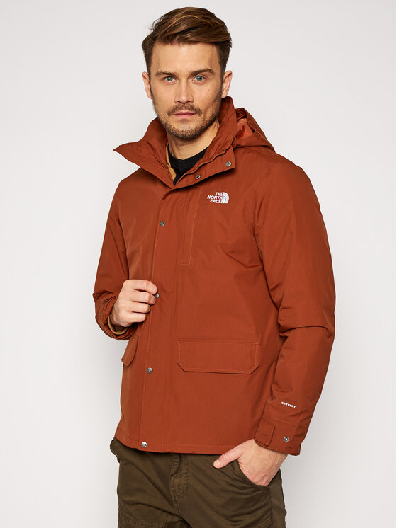 The North Face Daugiafunkcinė striukė Pinecfort Triclimate NF0A4M8EUX21 Ruda Regular Fit