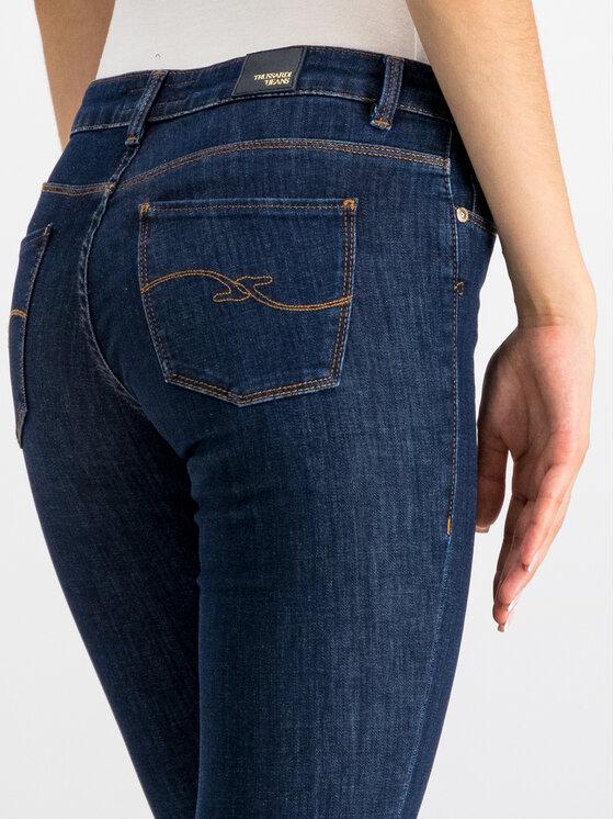 Trussardi Jeans Trussardi Jeans Jeansy Skinny Fit Diego 56J00008 Granatowy Skinny Fit