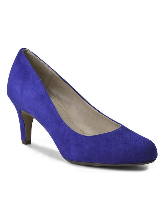 Clarks Clarks Pantofi Arista Abe 203588894 Albastru
