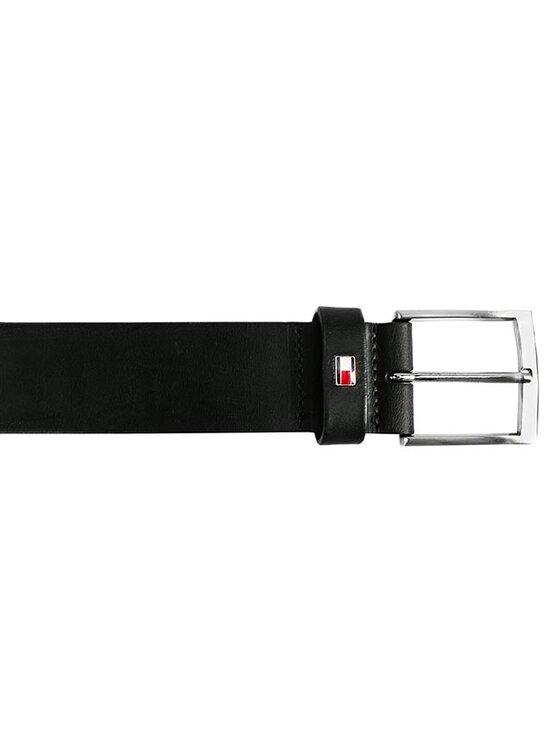 Tommy Hilfiger Tommy Hilfiger Ζώνη Ανδρική Denton Belt BM56925325 Μαύρο