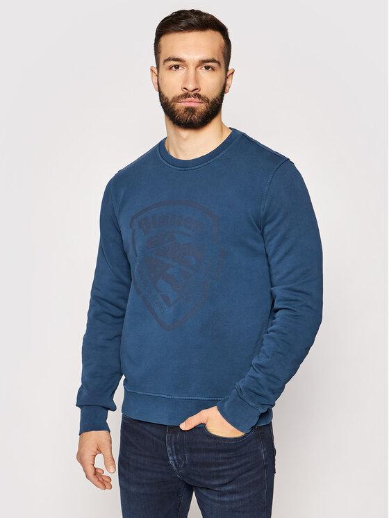 Blauer Džemperis 21SBLUF03409 006011 Mėlyna Regular Fit