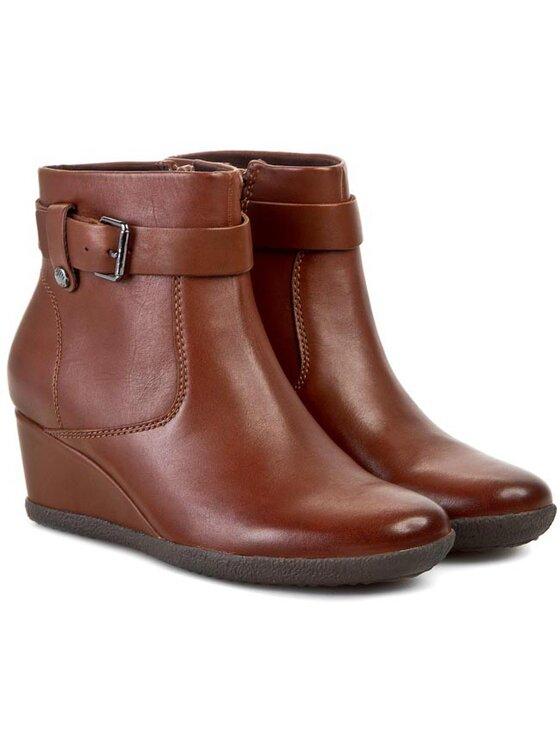 Geox Geox Členková obuv D Amelia St A D4479A 00043 C6777 Hnedá