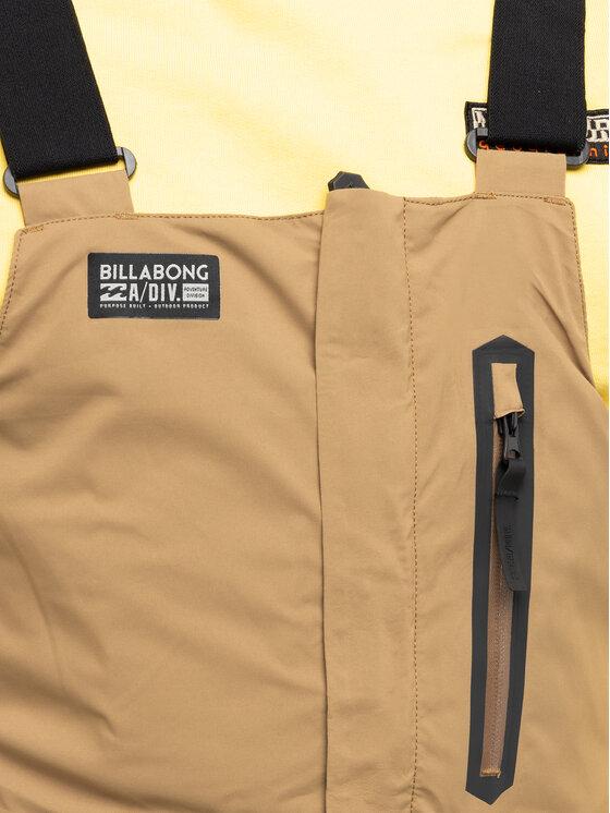 Billabong Billabong Spodnie narciarskie North West Stx Bib Q6PM05 BIF9 Brązowy Regular Fit