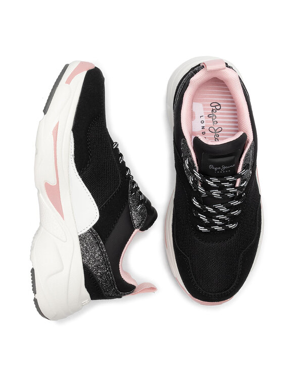 Pepe Jeans Pepe Jeans Sneakers Sinyu Girl Action PGS30416 Nero