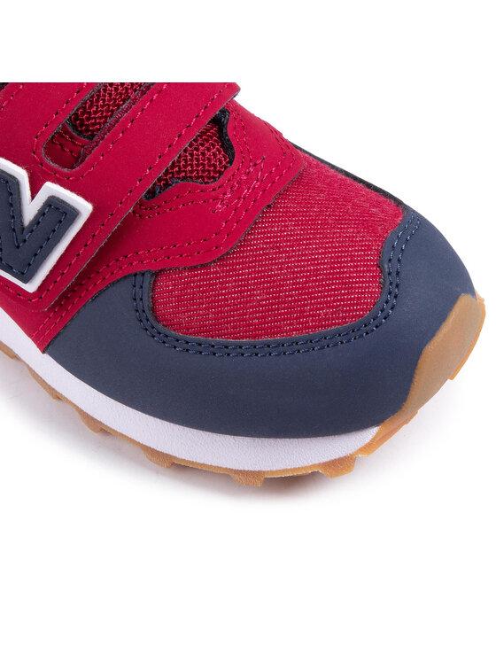 New Balance New Balance Sneakersy YV574DMI Czerwony