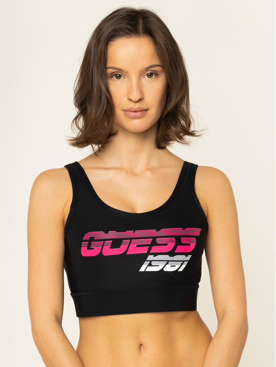 Guess Guess Σουτιέν τοπ O01A04 MC01P Μαύρο