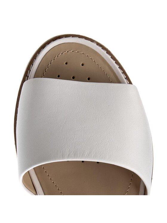 Geox Geox Sandále D Darline C D721YC 00085 C1000 Biela