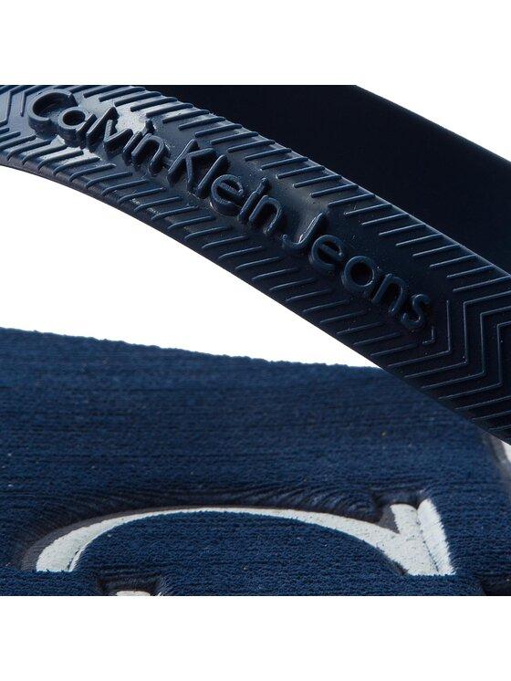 Calvin Klein Jeans Calvin Klein Jeans Žabky Dabney S1675 Tmavomodrá