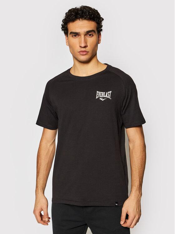 EVERLAST Marškinėliai 807600-60 Juoda Regular Fit
