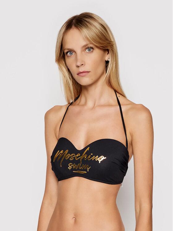 MOSCHINO Underwear & Swim Bikinio viršus 5722 5169 Juoda