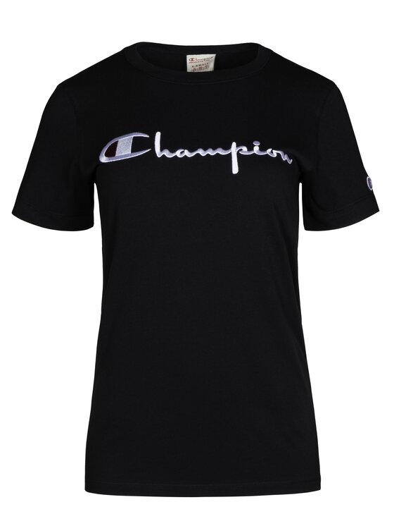Champion Champion T-Shirt 111237 Czarny Regular Fit