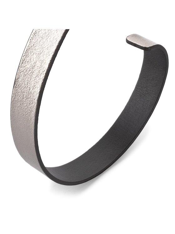 Calvin Klein Calvin Klein Dámský pásek Ck Skinny Waistbelt K60K603557 75 Stříbrná