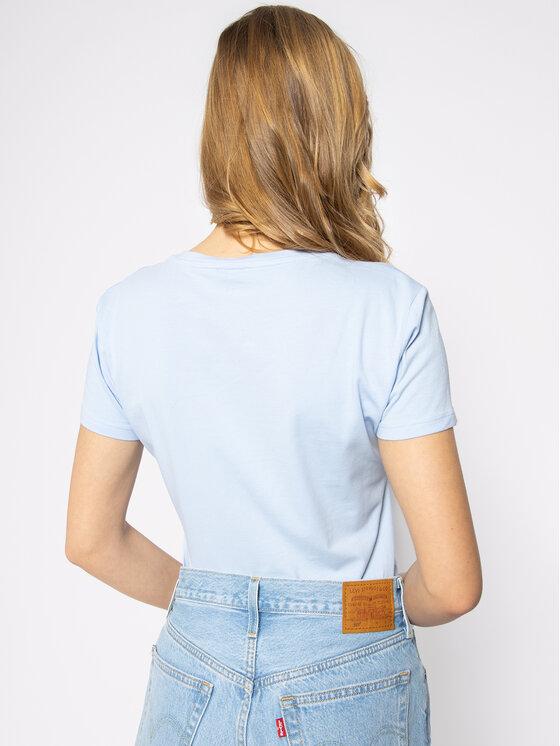 Liu Jo Liu Jo T-shirt WA0270 J5003 Blu Regular Fit