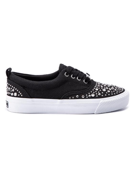 Guess Guess Πάνινα παπούτσια Kenslyn FL6KNS FAB12 Μαύρο