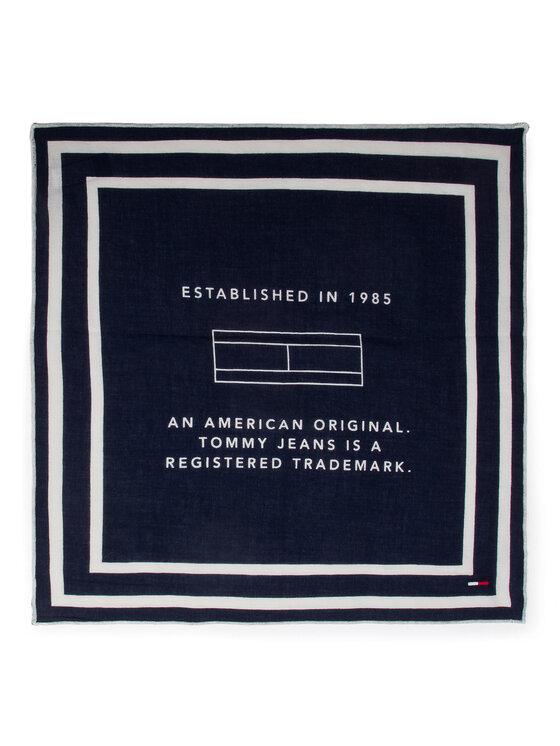 Tommy Jeans Tommy Jeans Chusta Tju Logo Bandana AU0AU00372 Granatowy