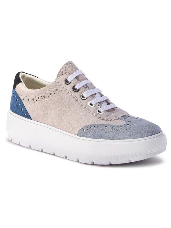 Geox Geox Sneakers D Kaula A D92ANA 00022 C1QF3 Beige